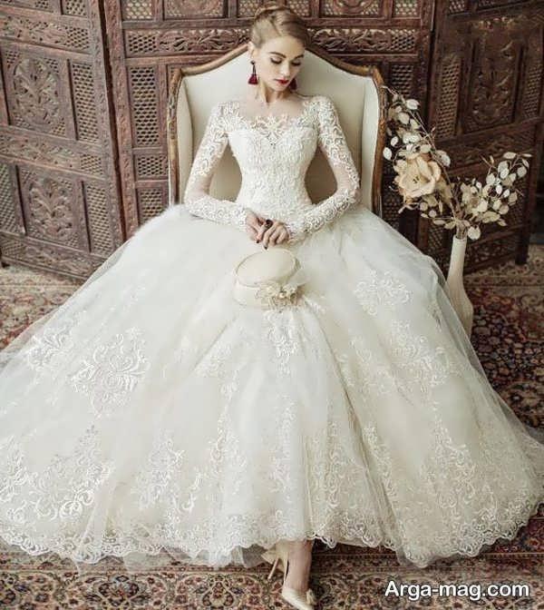 جدیدترین مدل پیراهن عروس گیپور