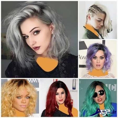 رنگ مو های زیبا سال 2016
