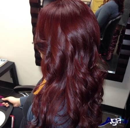 رنگ موی ماهگونی 2016