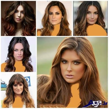 معرفی رنگ مو های سال 2016