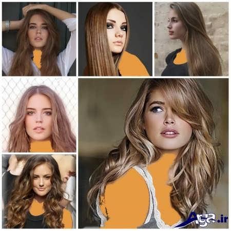مدل رنگ مو های سال 2016