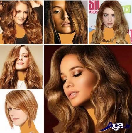 مدل رنگ مو های برتر سال 2016