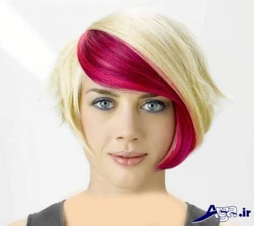 مدل هایلایت قرمز برای سفید پوست ها