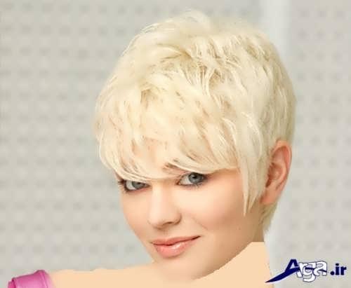 مدل رنگ موی پلاتینه
