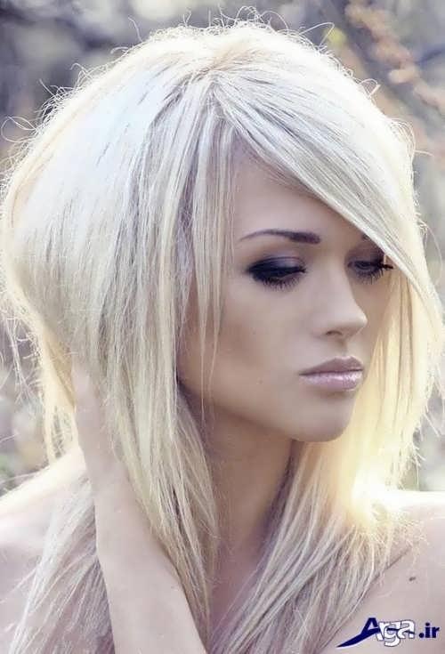 رنگ موی صدفی