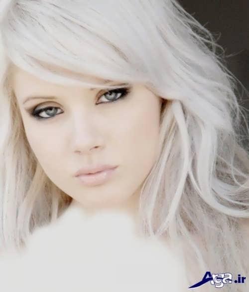 رنگ مو برای پوست سفید