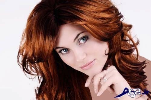 رنگ موی ناسب برای خانمها با پوست سفید