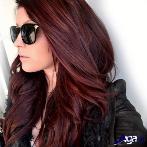 رنگ مو و مدل مو زیبا