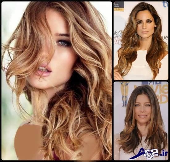 مدل موی مش شده