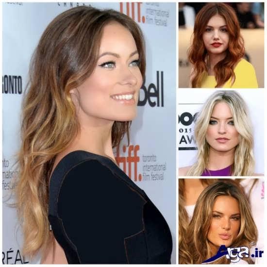 انواع مدل های متنوع هایلایت مو