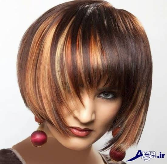 مدل هایلایت مو کوتاه