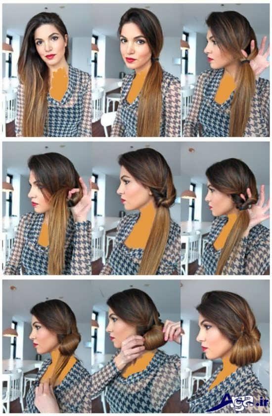 انواع مدل های ساده آرایش مو