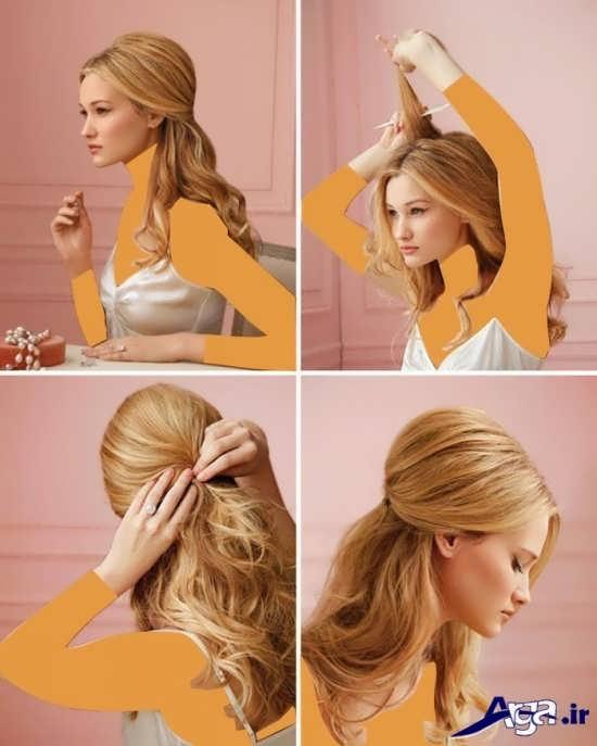 آموزش بستن مو ها