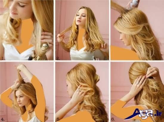 مدل آرایش مو زیبا
