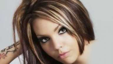 انواع فرمول های ترکیبی رنگ موی کاراملی
