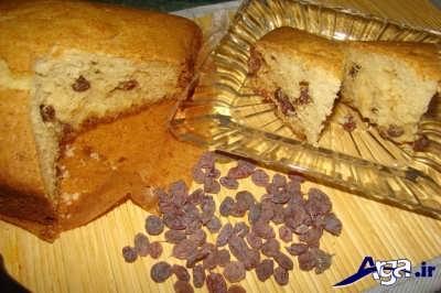 کیک کشمشی با بهترین ذستور طرز تهیه