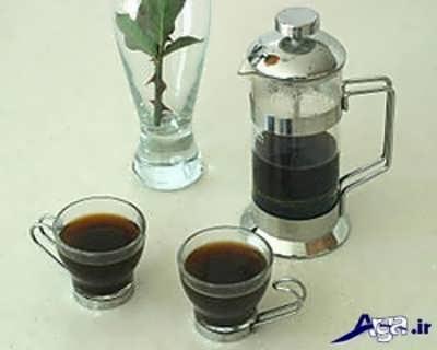 مراحا تهیه قهوه فرانسه