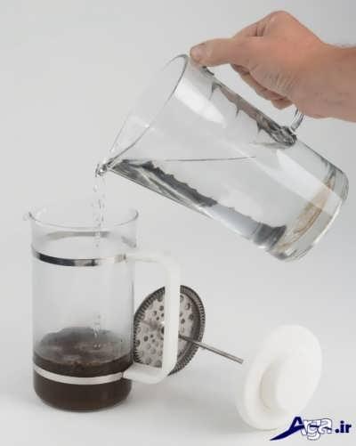 روش تهیه قهوه فرانسه