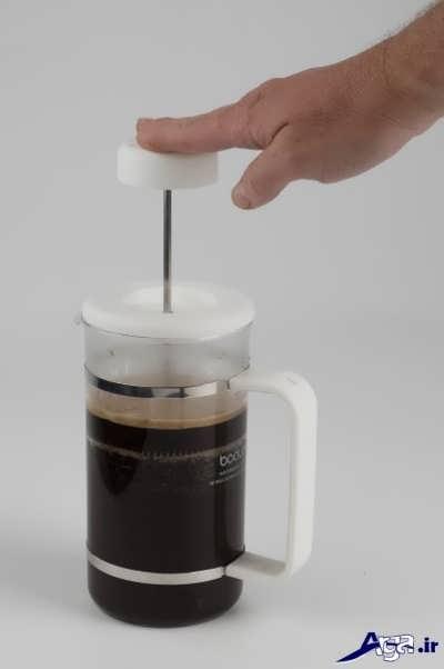 دم کردن قهوه فرانسه به صورت تصویری و مرحله به مرحله