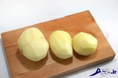 سیب زمینی سرخ کرده با طرز تهیه ای آسان