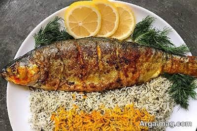 دستور تهیه ماهی قزل آلا