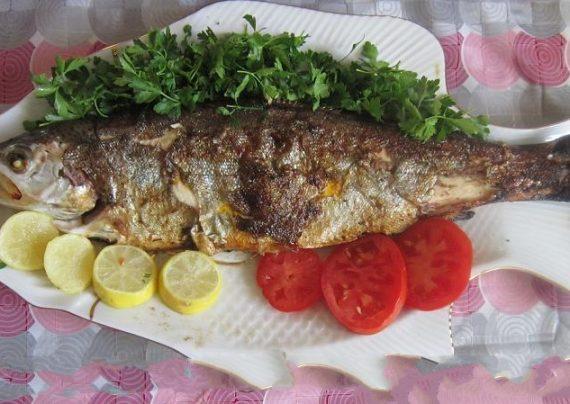 طرز تهیه ماهی قزل آلا خوشمزه