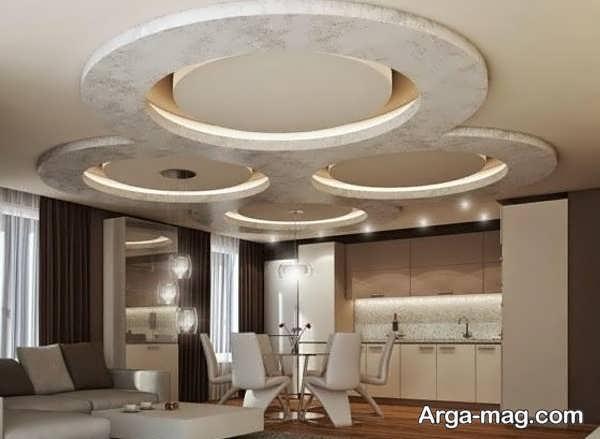 کنافهای سقف با طرحی مدرن