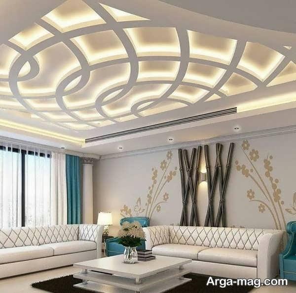 کنافهای سقف با طرحی خاص