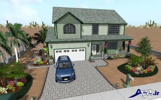 طراحی جدید فضای سبز