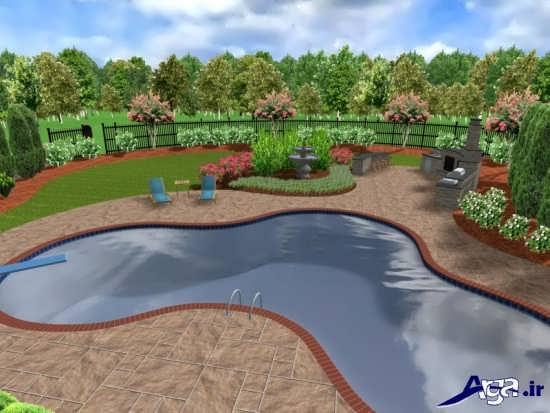 طراحی جدید فضای سبز برای ساختمان