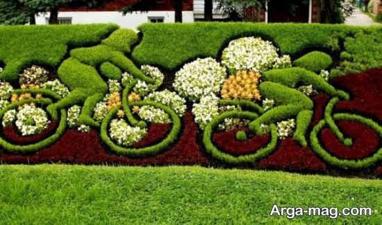 طراحی فضای سبز با ایده شیک