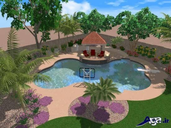 طراحی زیبای فضای سبز