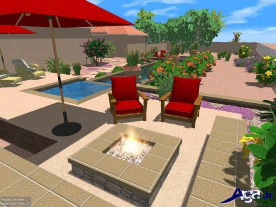 طراحی فضای بیرونی منزل
