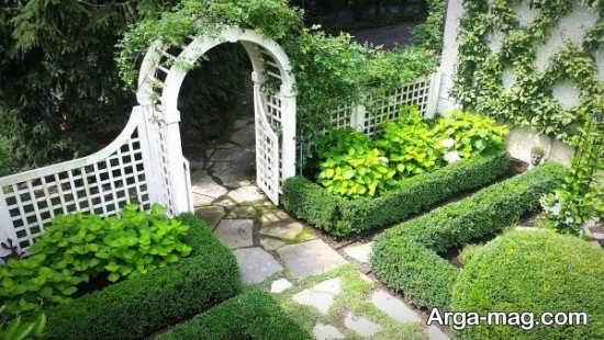 ایده طراحی محوطه سبز