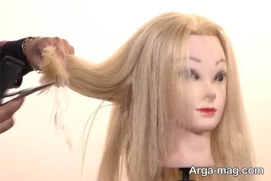 آموزش کوتاه کردن مو به صورت لیر