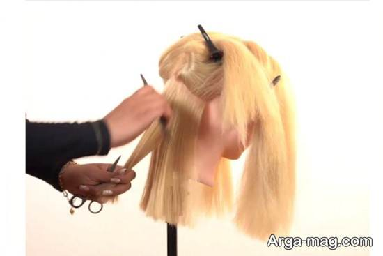 تقسیم کردن موها