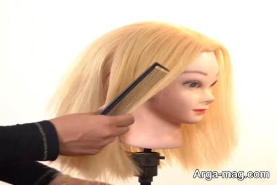 کوتاه کردن قسمت جلویی موها