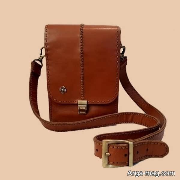 الگوی کیف چرم مردانه و زنانه