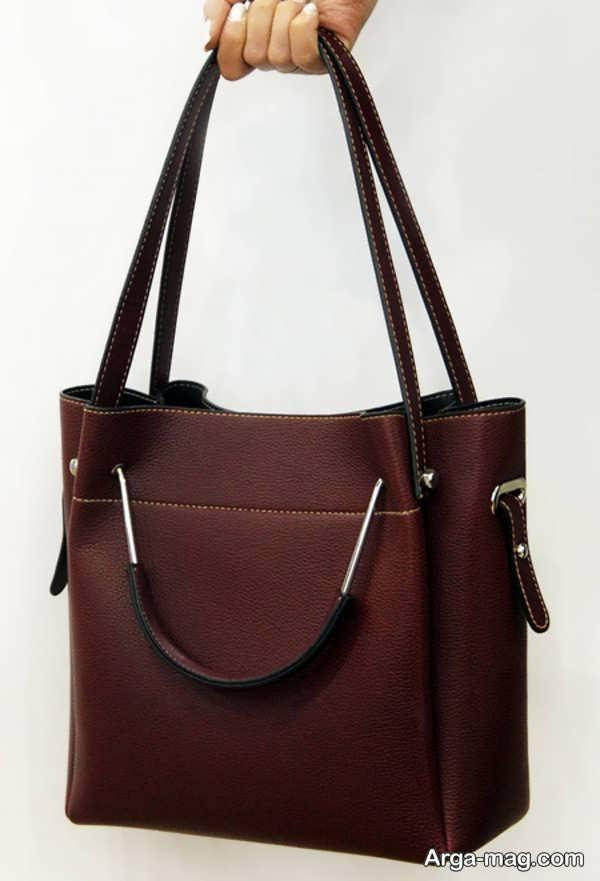 الگوی کیف چرم دست ساز