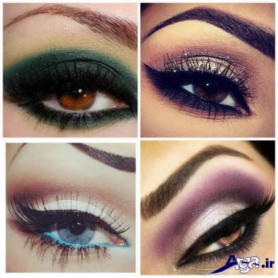 میکاپ زیبا چشم