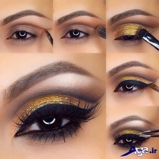آرایش چشم مدرن و زیبا