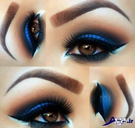 مدل زیبا آرایش چشم عروس ایرانی