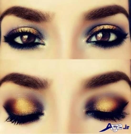 مدل آرایش چشم زیبا