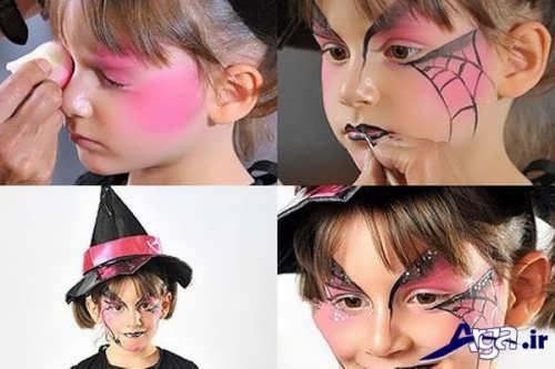 آموزش نقاشی بر روی صورت کودکان
