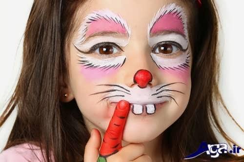 مدل نقاشی صورت کودکان شیک و مدرن