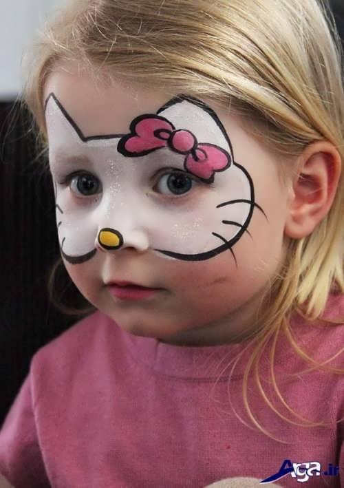 مدل زیبا و جذاب گریم کودکان