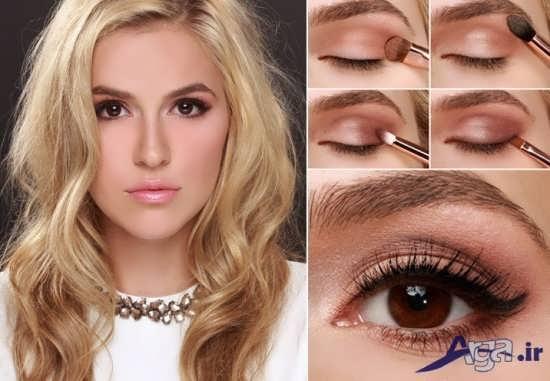 مدل آرایش چشم و آرایش صورت