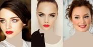 انواع متنوع و جدید مدل آرایش صورت دخترانه