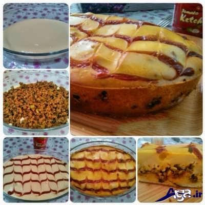 طرز تهیه کیک گوشت خوشمزه در منزل