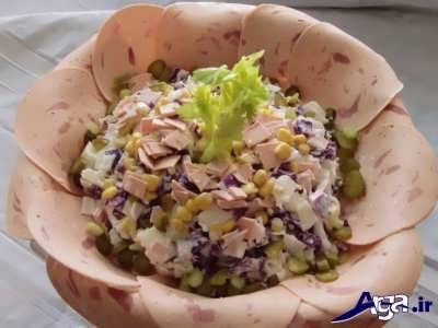 طرز تهیه سالاد مکزیکی با بهترین روش تهیه
